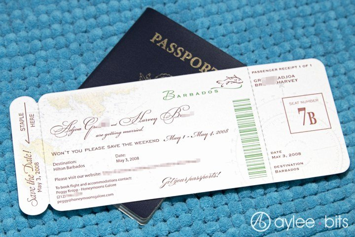 Diy Boarding Pass Invitations New Diy Boarding Pass Invitation Save the Date