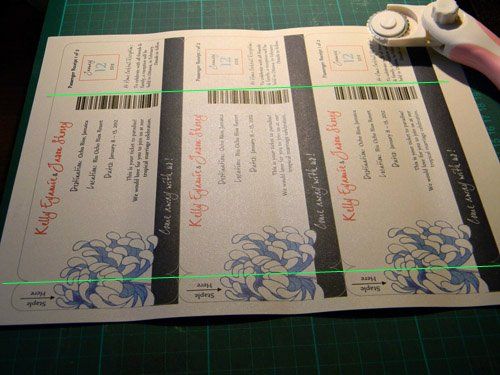 Diy Boarding Pass Invitations Unique Diy Boarding Pass Wedding Invitations – Part Three the