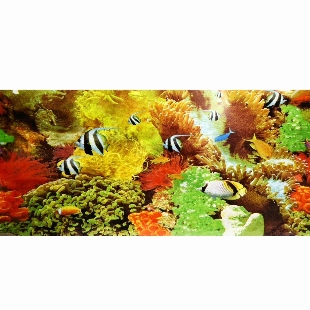 Diy Fish Tank Background Paper Elegant New Aquarium Fish Tank Beautiful Background Poster Cute