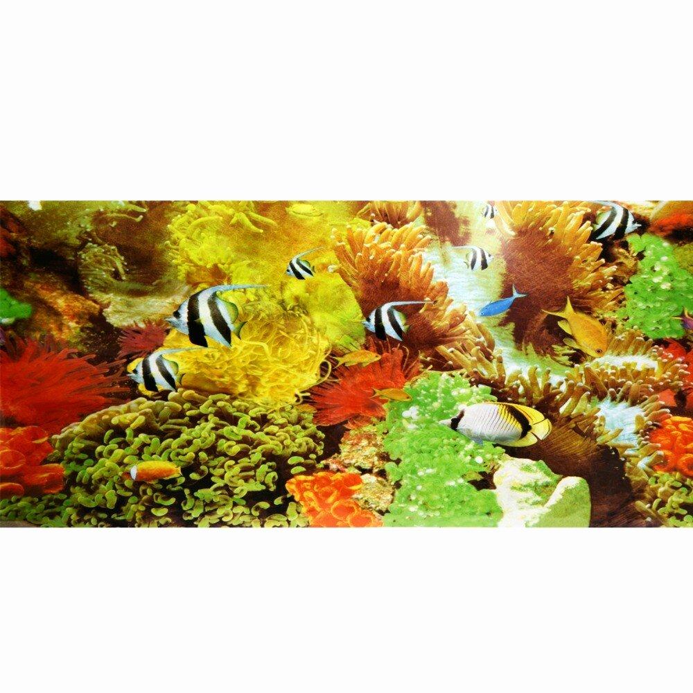 Diy Fish Tank Background Paper Elegant New Aquarium Fish Tank Beautiful Background Poster Cute