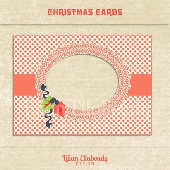 Diy Greeting Cards Template Beautiful Christmas Diy Printable Photo Cards Christmas Greeting