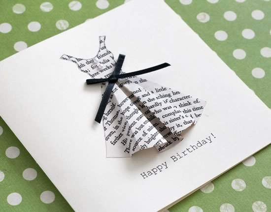 Diy Greeting Cards Template Best Of Book Print Dress Card Template