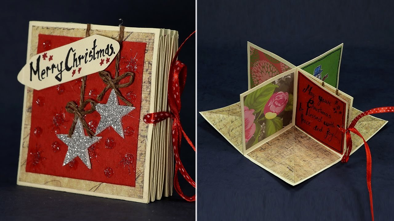 Diy Greeting Cards Template Fresh Diy Pop Up Corner Christmas Card Magical Handmade