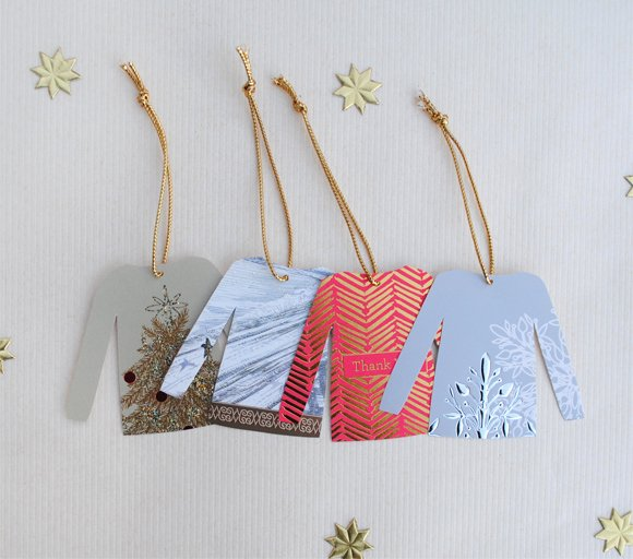 Diy Greeting Cards Template Luxury Diy Christmas Sweater Gift Tags