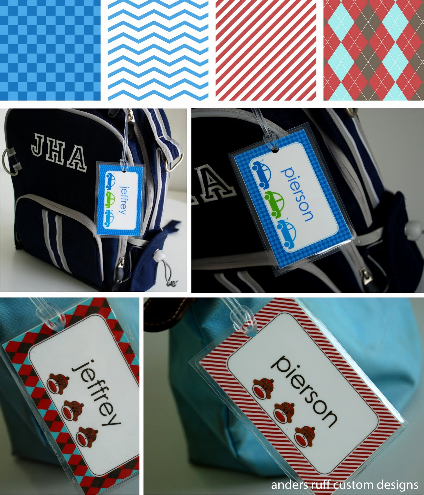 Diy Luggage Tags Template Awesome Fabulous Features by anders Ruff Custom Designs Free