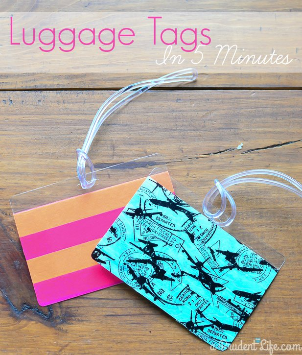 Diy Luggage Tags Template Lovely Five Minute Friday Diy Luggage Tags