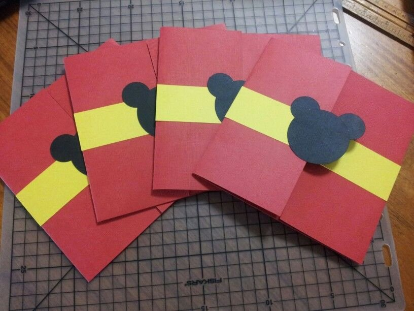 Diy Mickey Mouse Birthday Invitations Awesome Diy Mickey Mouse Invitations Disney