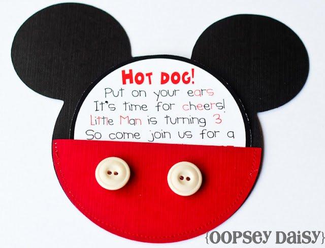 Diy Mickey Mouse Birthday Invitations Luxury Kara S Party Ideas Mickey Mouse Birthday Party