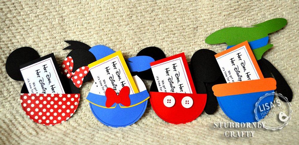 Diy Mickey Mouse Birthday Invitations Luxury Stubbornly Crafty Disney Gang & Cookies