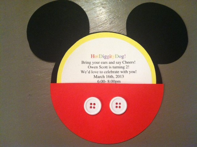 Diy Mickey Mouse Birthday Invitations Unique Pinterest and the Pauper Diy Mickey Mouse Invitations