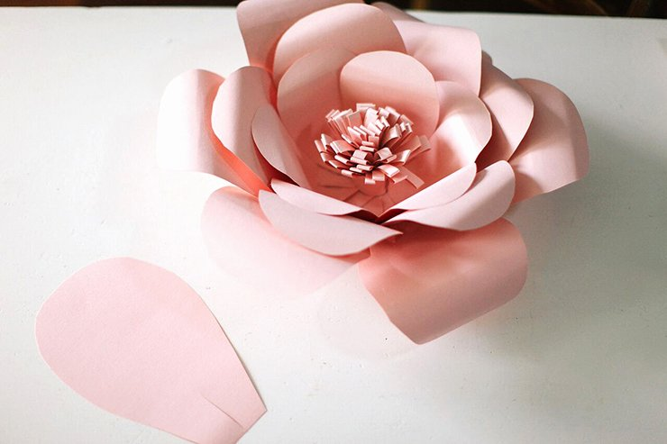 Diy Paper Flower Template Awesome Giant Paper Bag Stars Paper Craft