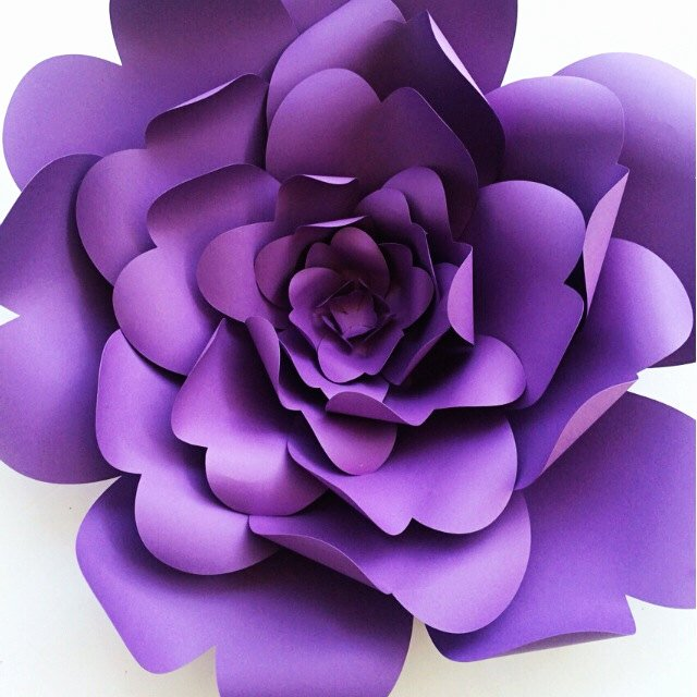 Diy Paper Flower Template Beautiful How to Add Flair to Your Wedding with Diy Paper Flower