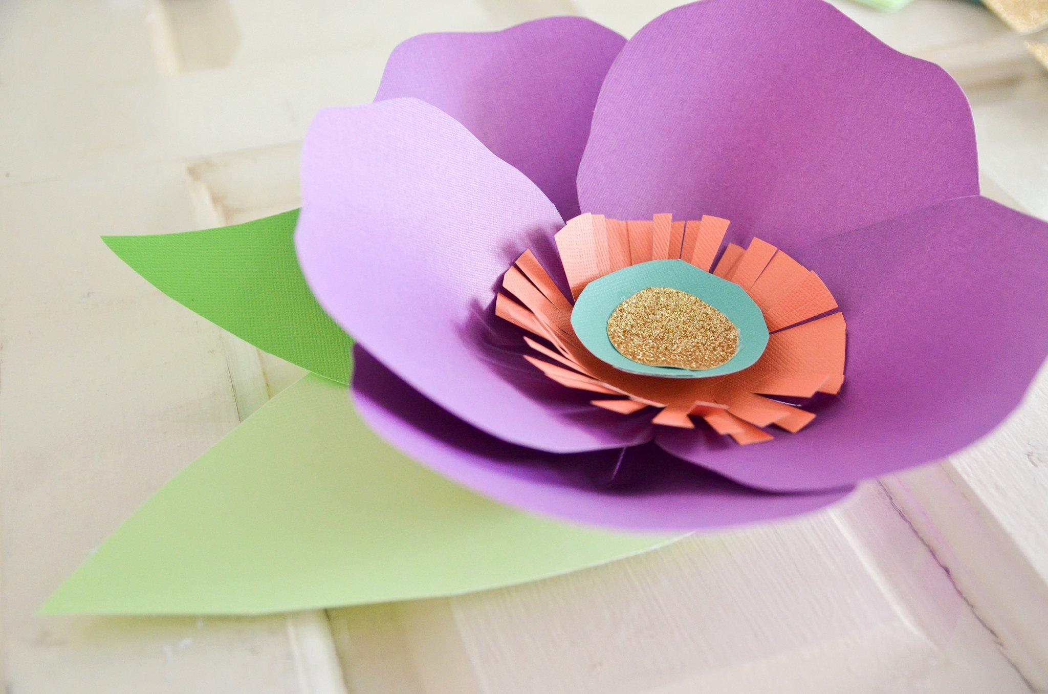 Diy Paper Flower Template Fresh Diy Hand Cut Paper Flowers Project Nursery