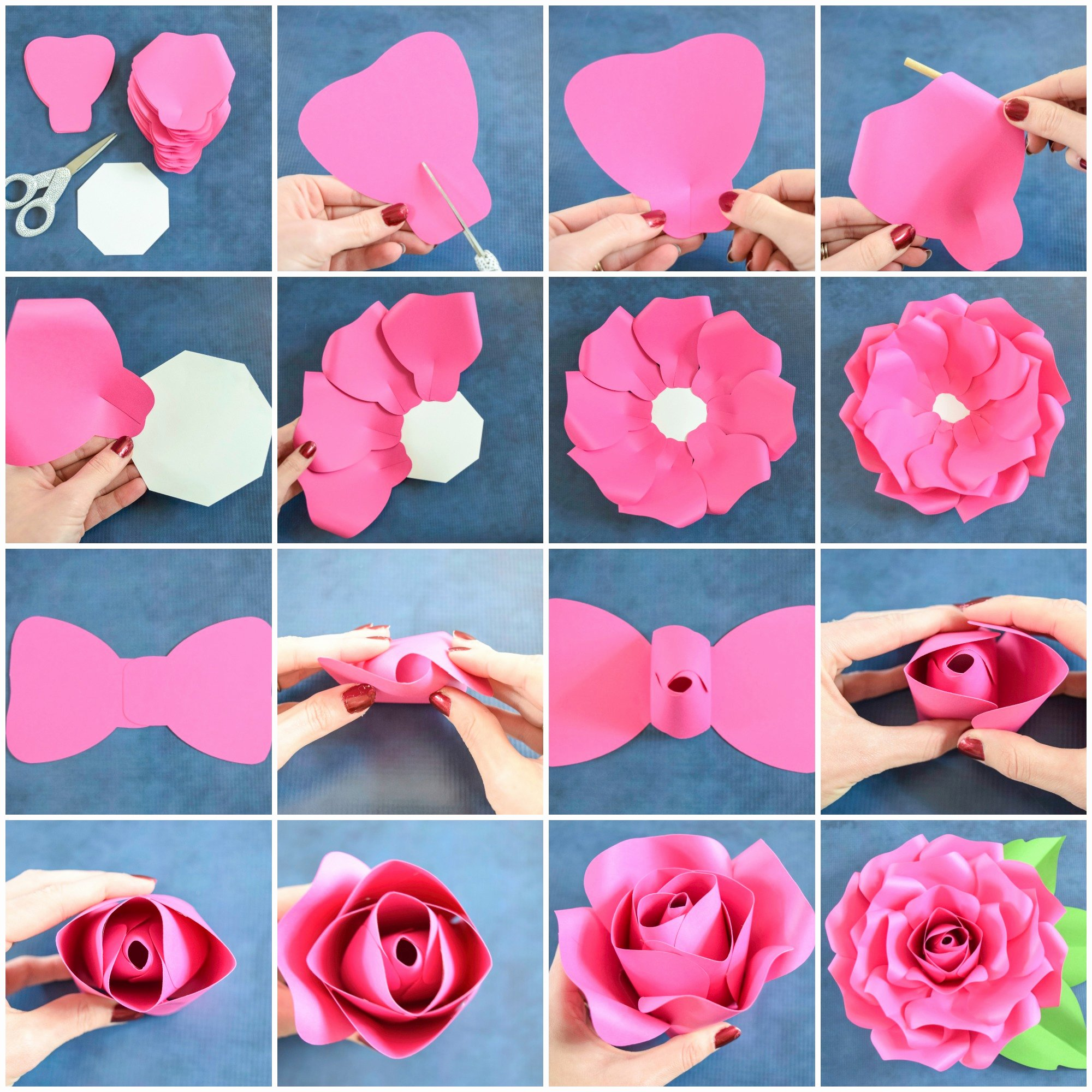Diy Paper Flower Template Inspirational Giant Paper Flowers How to Make Paper Garden Roses with