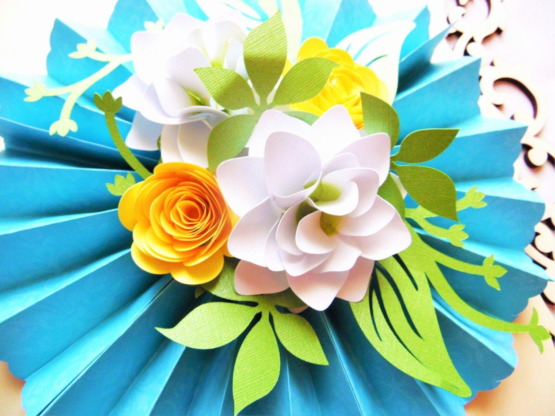 Diy Paper Flower Template Lovely Diy Rosette Medallions with Paper Flowers Diy Paper Flower