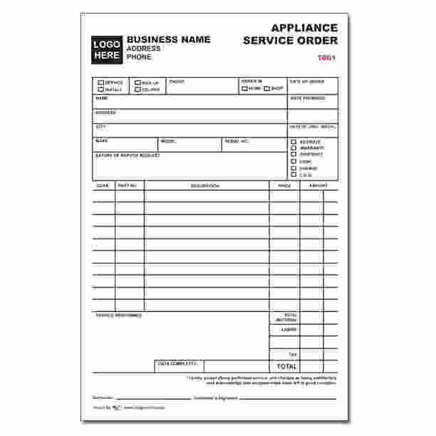 Door order form Template Fresh Custom Business forms Invoices Receipts Continuous