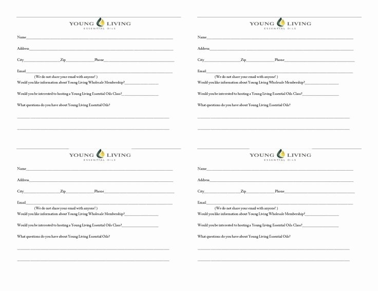 Door order form Template New Door Prize Slipcx Essential Oils Pinterest