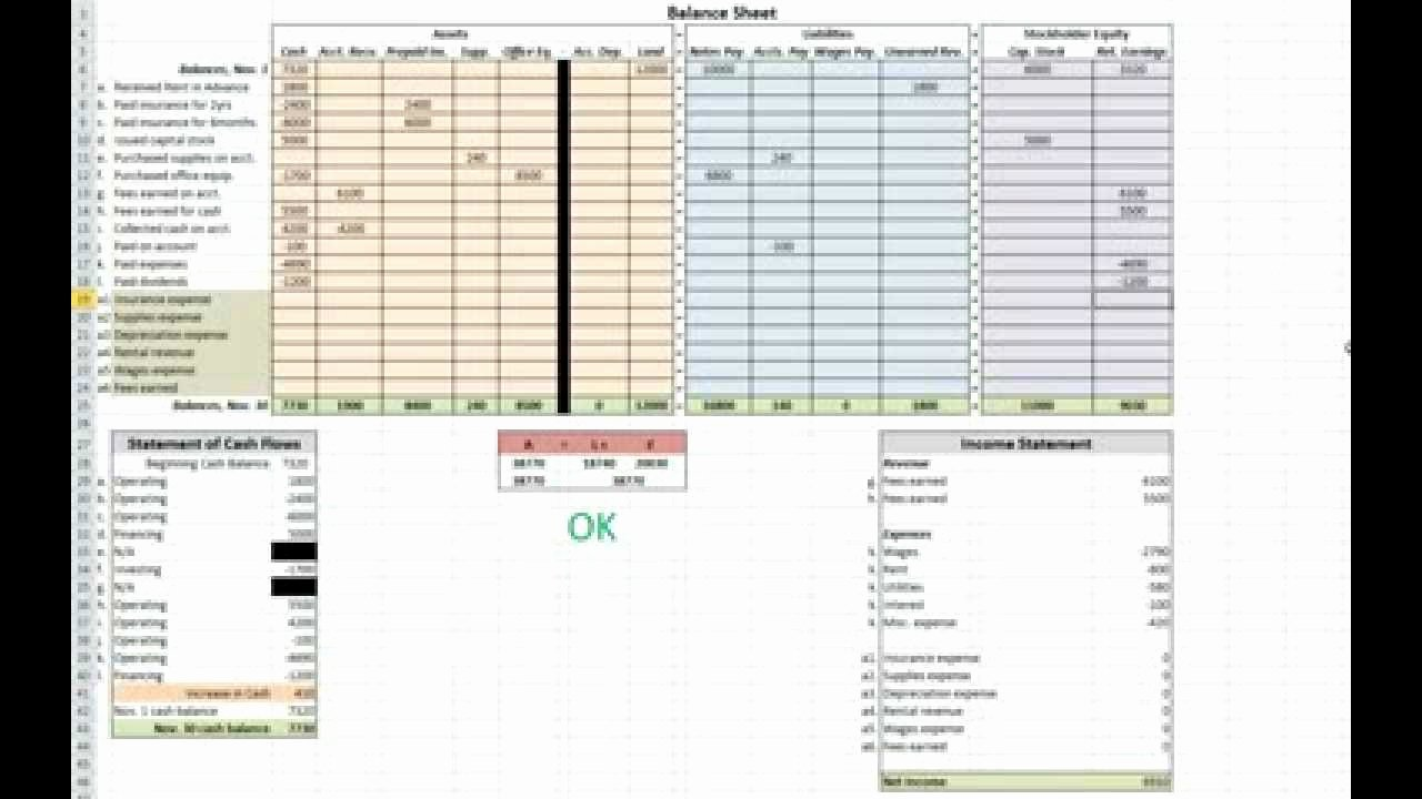 Double Entry Journal Template Unique Double Entry Accounting Spreadsheet