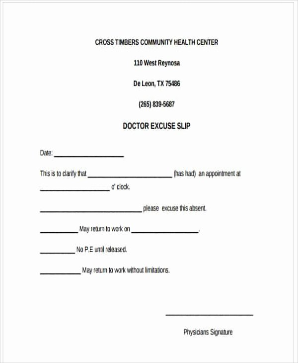 Dr Excuses for Work Best Of 37 Free Doctors Note Templates