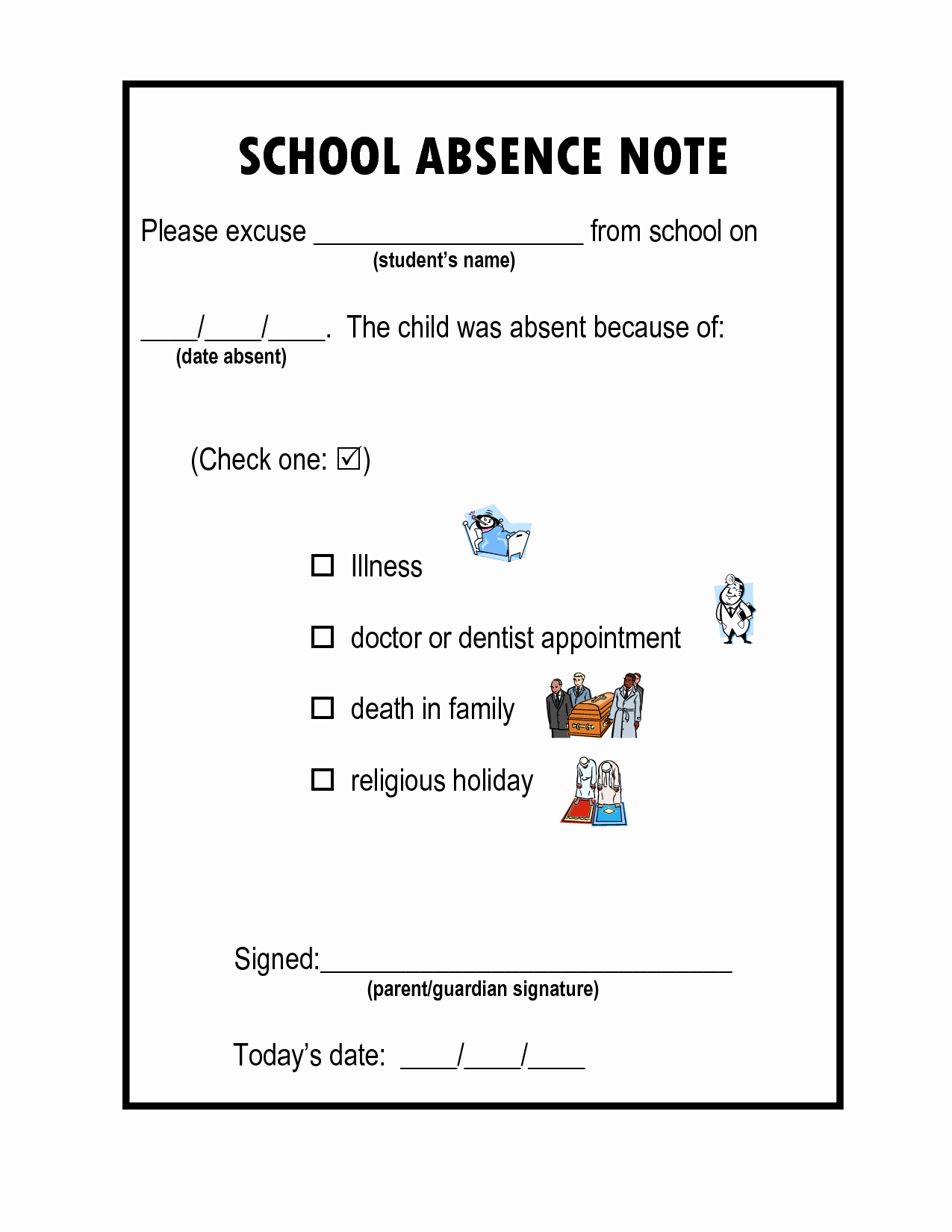 Dr Notes for School Awesome Doctors Note for School Absence Template Xg5zskzk