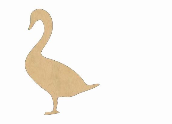 Duck Cut Out Shapes Fresh Duck Cutout Shape Laser Cut Unfinished Wood Shapes Craft