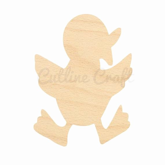 Duck Cut Out Shapes Fresh Duck Duckling Cutout Shapes Crafts Gift Tags by Cutlinecraft