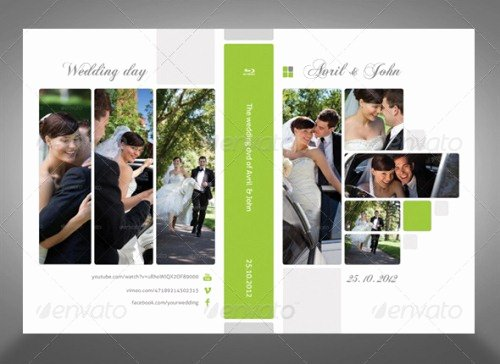 Dvd Cover Design Template Beautiful 15 Wedding Cd and Dvd Artwork Cover Templates