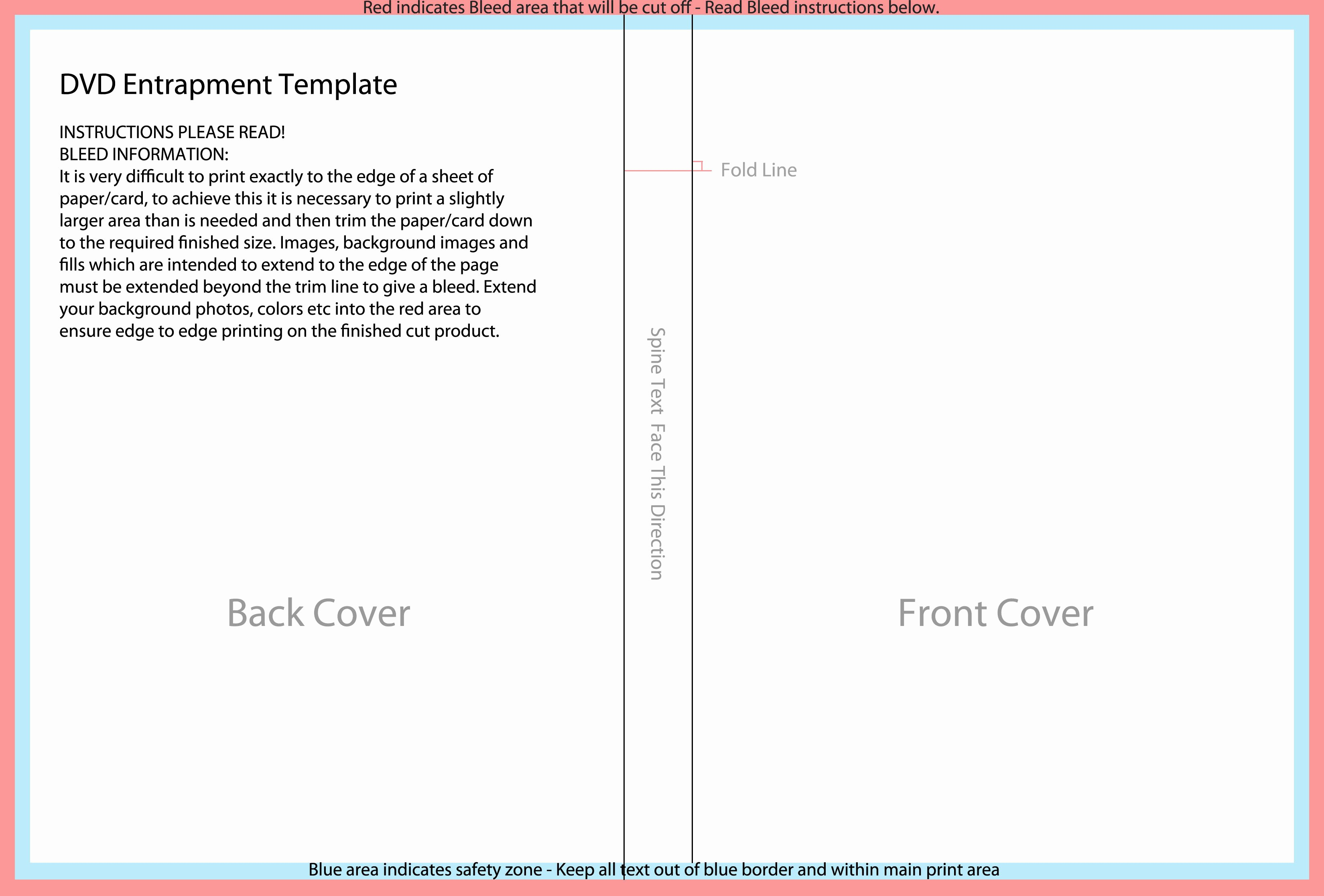 Dvd Cover Design Template Beautiful Templates for Disc Packaging – Els Productions