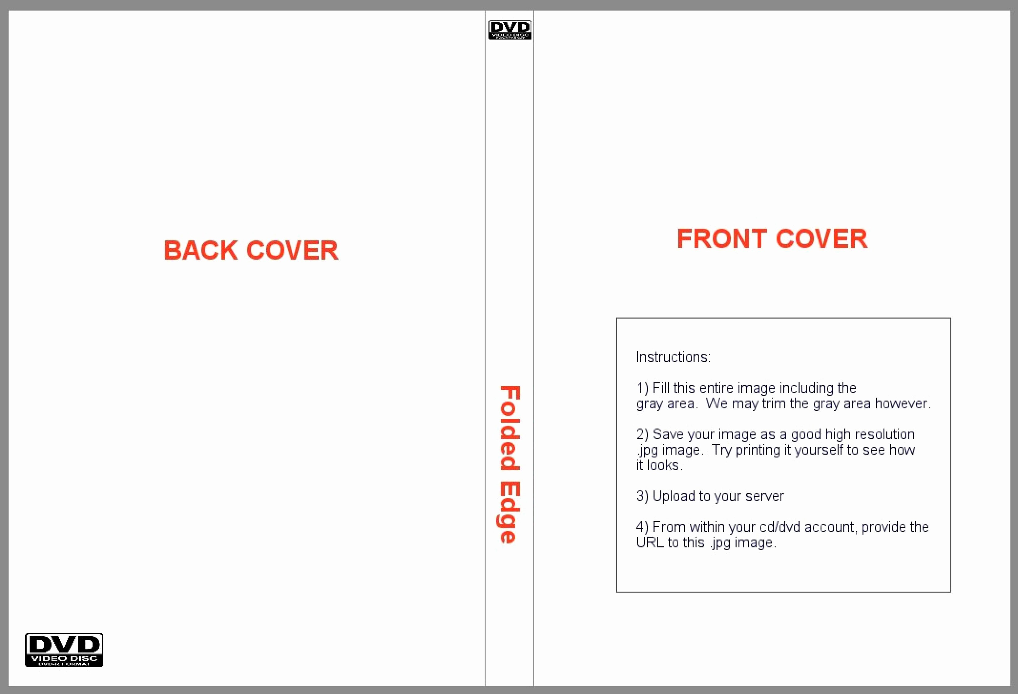 Dvd Cover Design Template Best Of Dvd Cover Template