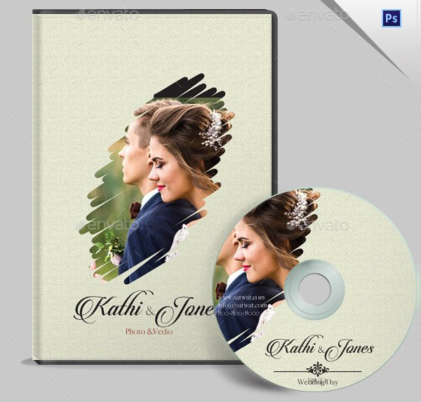 Dvd Cover Design Template Elegant 17 Wedding Dvd Cover Templates Free Premium Psd Files