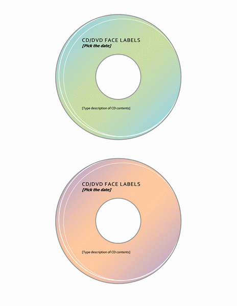 Dvd Label Template Awesome Cd Dvd Label Template Microsoft Word Templates