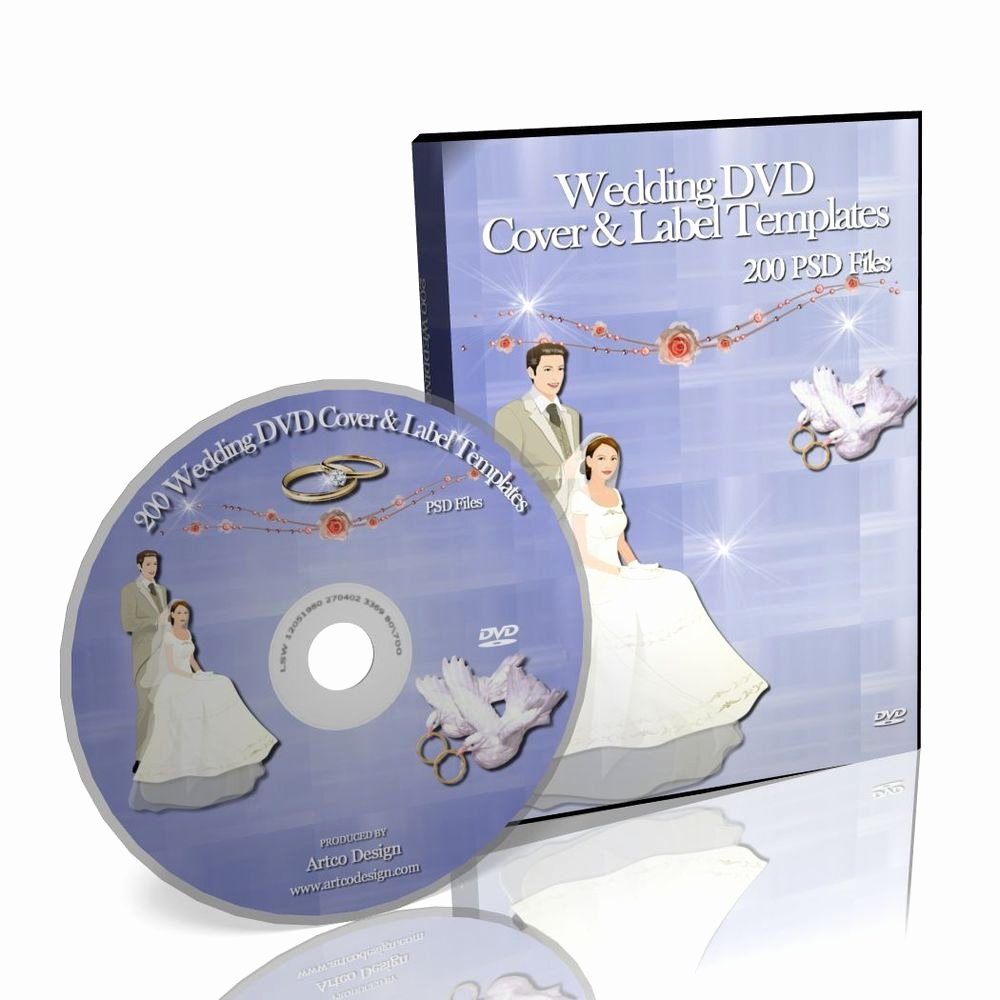 Dvd Label Template Lovely 200 Wedding Dvd Cover & Label Templates