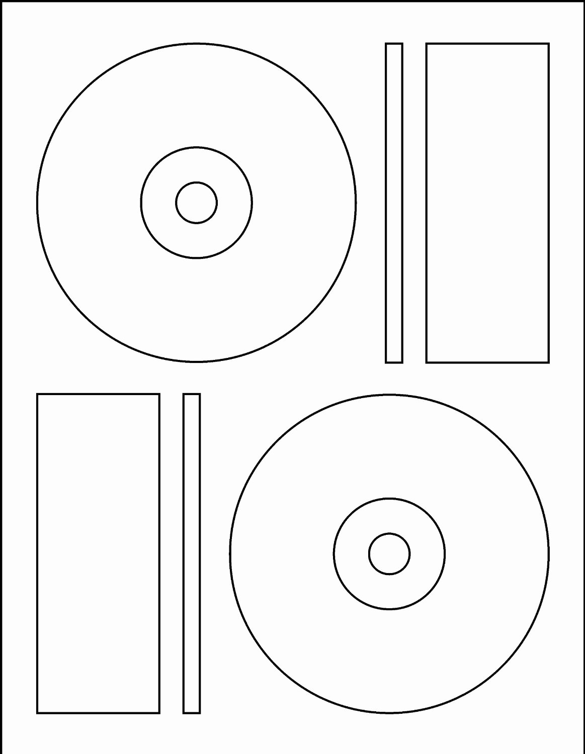 Dvd Label Template New Memorex Cd Label Template