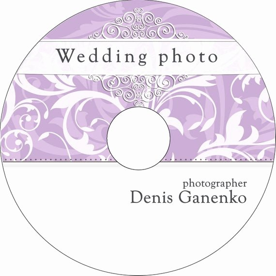 Dvd Label Template Unique Wedding Cd Dvd Label Template Vintage Patterns by Camera