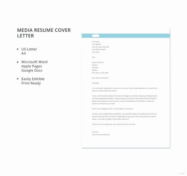 Easy Cover Letter Samples New 51 Simple Cover Letter Templates Pdf Doc