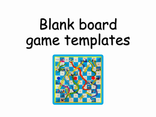 Editable Board Game Templates Inspirational Blank Board Game Templates by Choralsongster