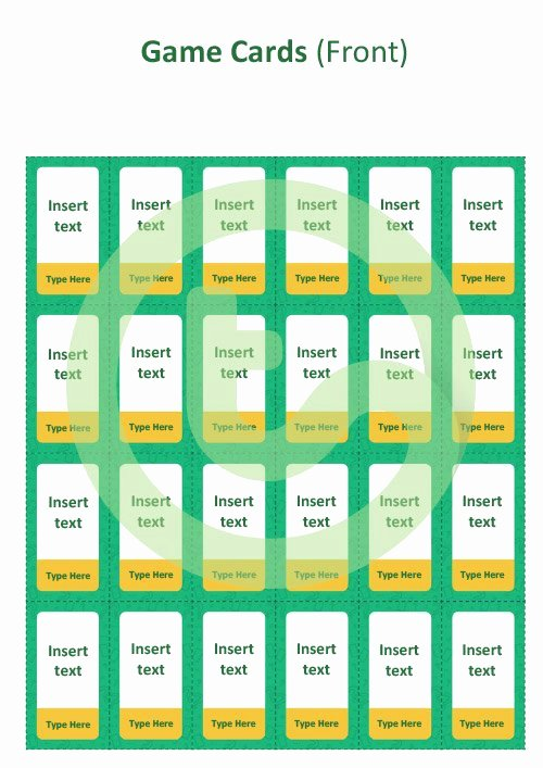 Editable Board Game Templates Lovely Editable What S My Card Board Game Template Teaching