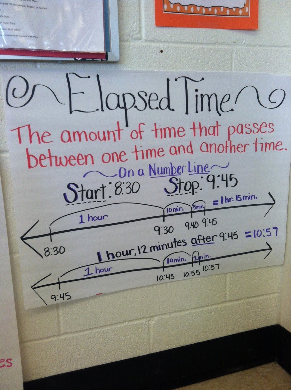 Elapsed Time T Chart Best Of Teaching with A Mountain View Elapsed Time Troubles