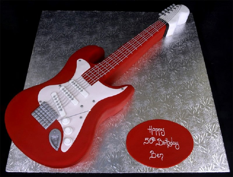 Electric Guitar Birthday Cake Inspirational Guitar Cakes – Decoration Ideas