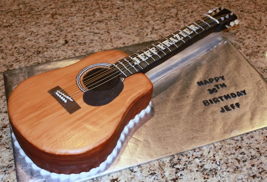Electric Guitar Cake Pan Beautiful Acoustic Guitar Cake Template Cakepins