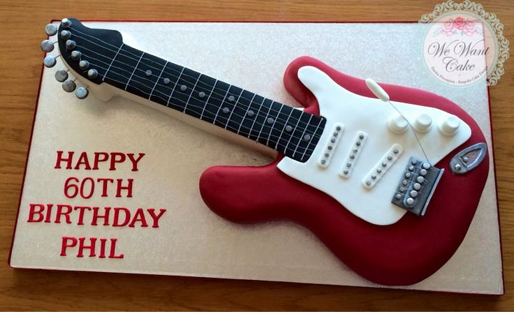 Electric Guitar Cake Pan Elegant Best 25 Guitar Cake Ideas On Pinterest