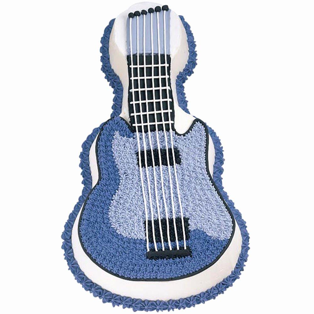 Electric Guitar Cake Pan Luxury Electric Guitar Cake