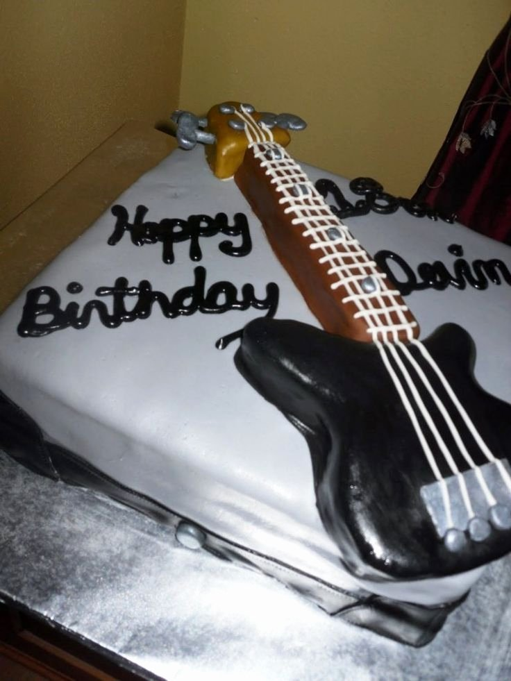 Electric Guitar Cake Pan New 1153 Best Cake Ideas Images On Pinterest