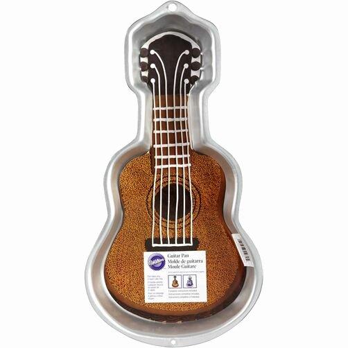 Electric Guitar Cake Pan Unique Guitar Cake Pan