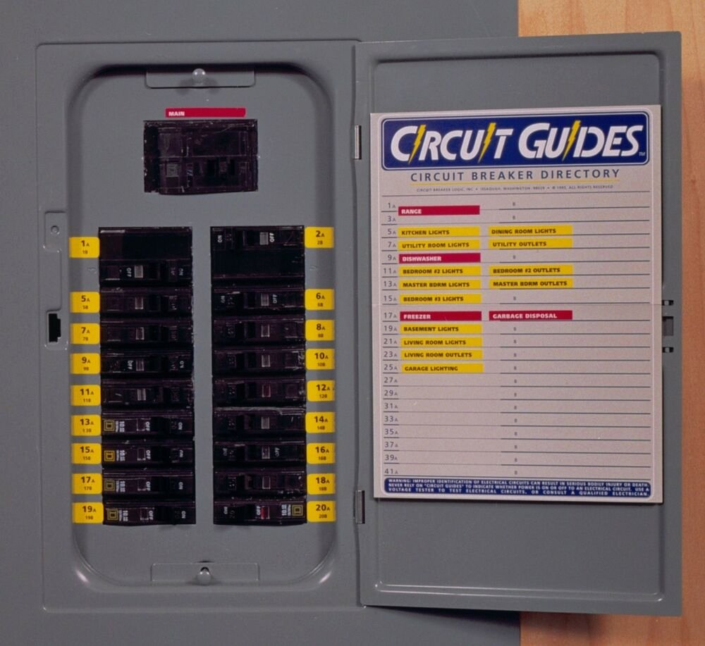 Electrical Panel Labels Beautiful Circuit Guides Kit Get 149 Identifier Labels Plus A