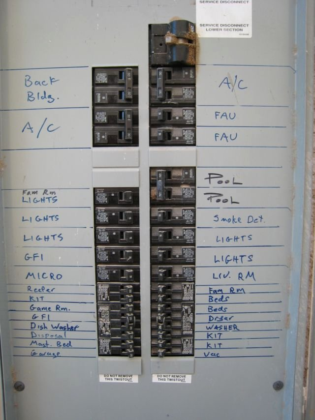 Electrical Panel Labels Elegant Adding A 220 Volt Outlet In Garage Ridgid forum