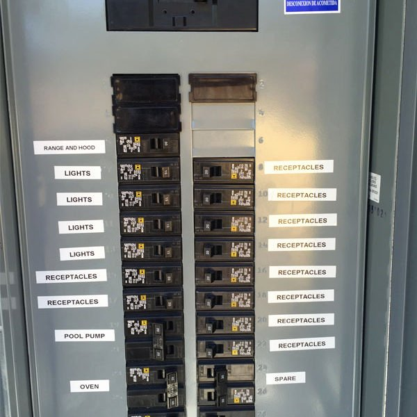Electrical Panel Labels New $99 Circuit Breaker Panel Labeling and Home Electrical
