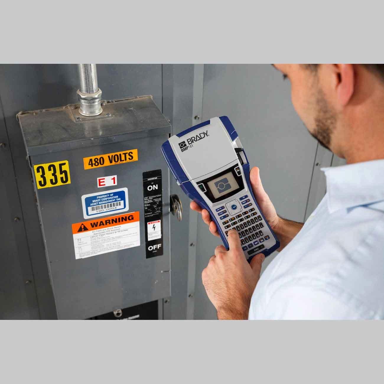Electrical Panel Labels Unique Brady Part Bmp41 Kit El Bmp41 Label Printer Electrical