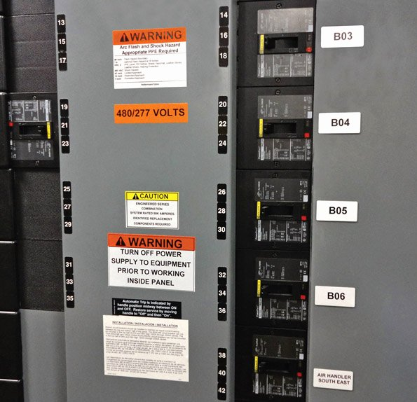 Electrical Panel Labels Unique the Ins and Outs Of Electrical Labeling — Part 1 Of 2