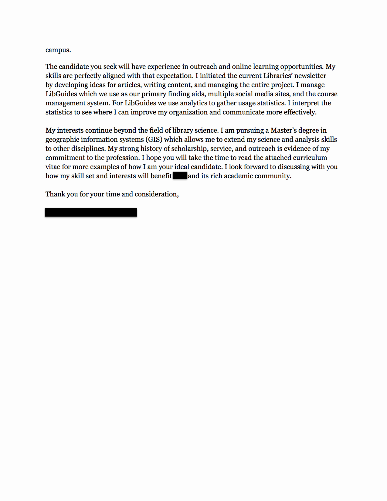 Elements Of A Cover Letter Inspirational Munity Relations Cover Letter Use This Academic